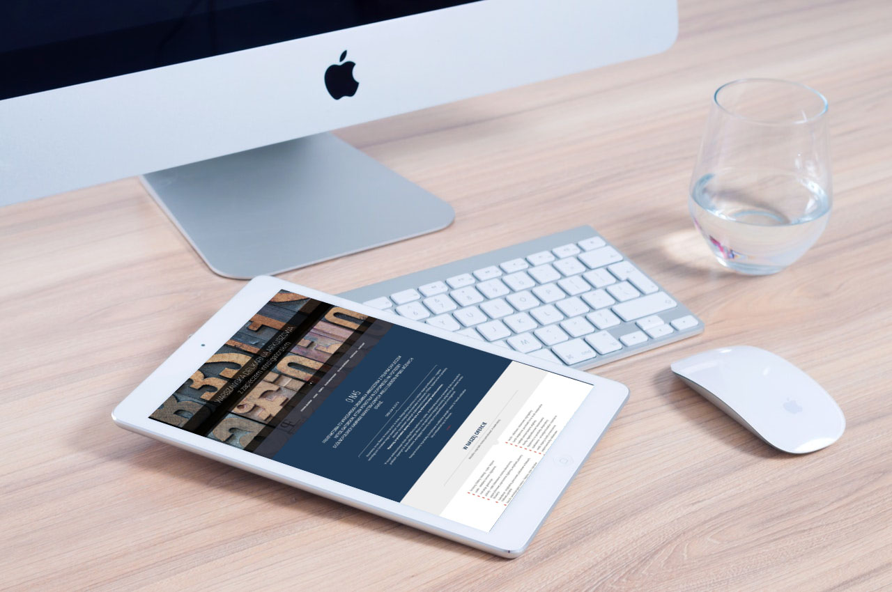 Portfolio BlueSky System: Drukarnia PrintFaktoria - Tablet