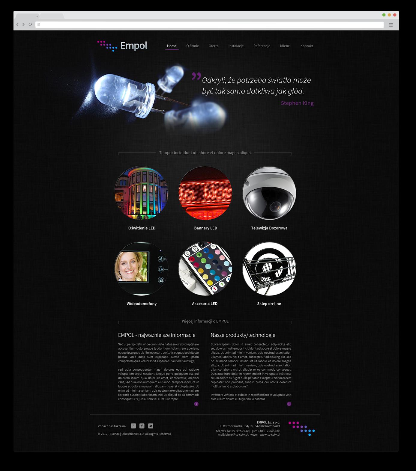 Portfolio BlueSky System: Empol - FULL