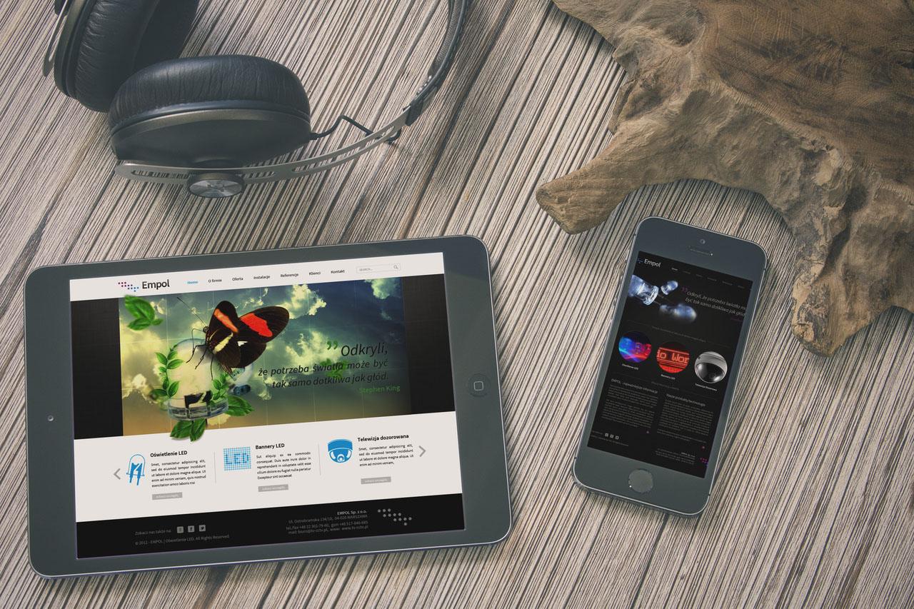Portfolio BlueSky System: Empol - Tablet