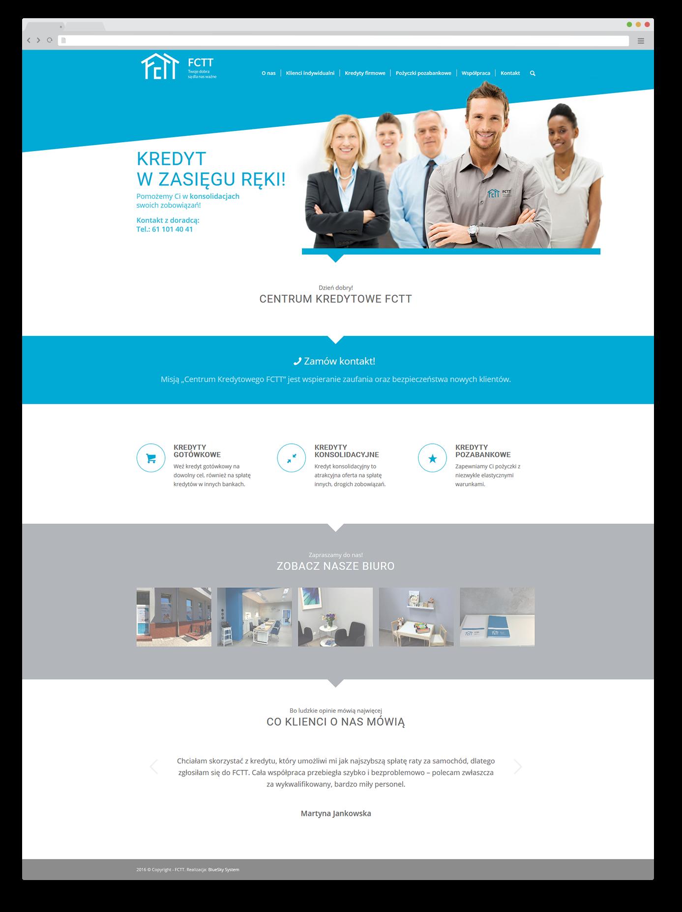 Portfolio BlueSky System: FCTT - FULL
