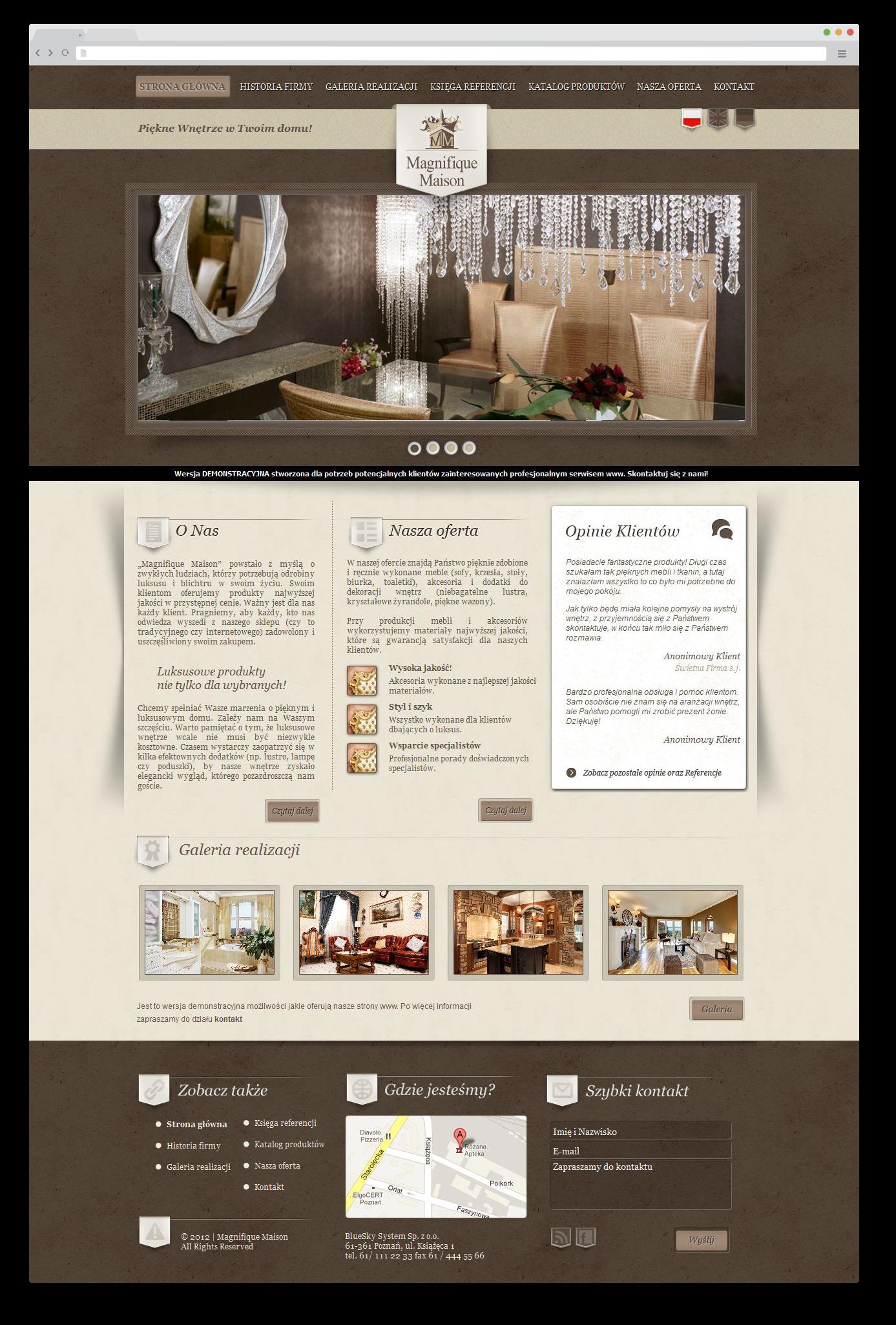 Portfolio BlueSky System: Magnifique Maison - FULL
