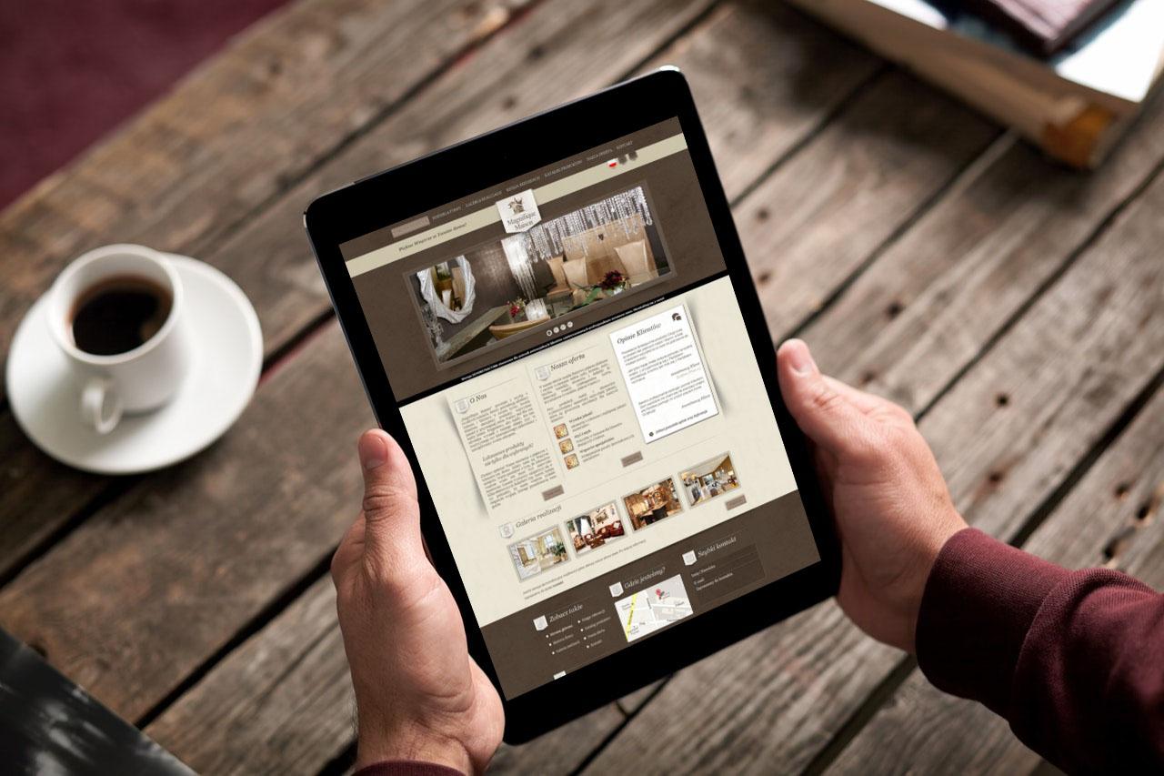 Portfolio BlueSky System: Magnifique Maison - Tablet