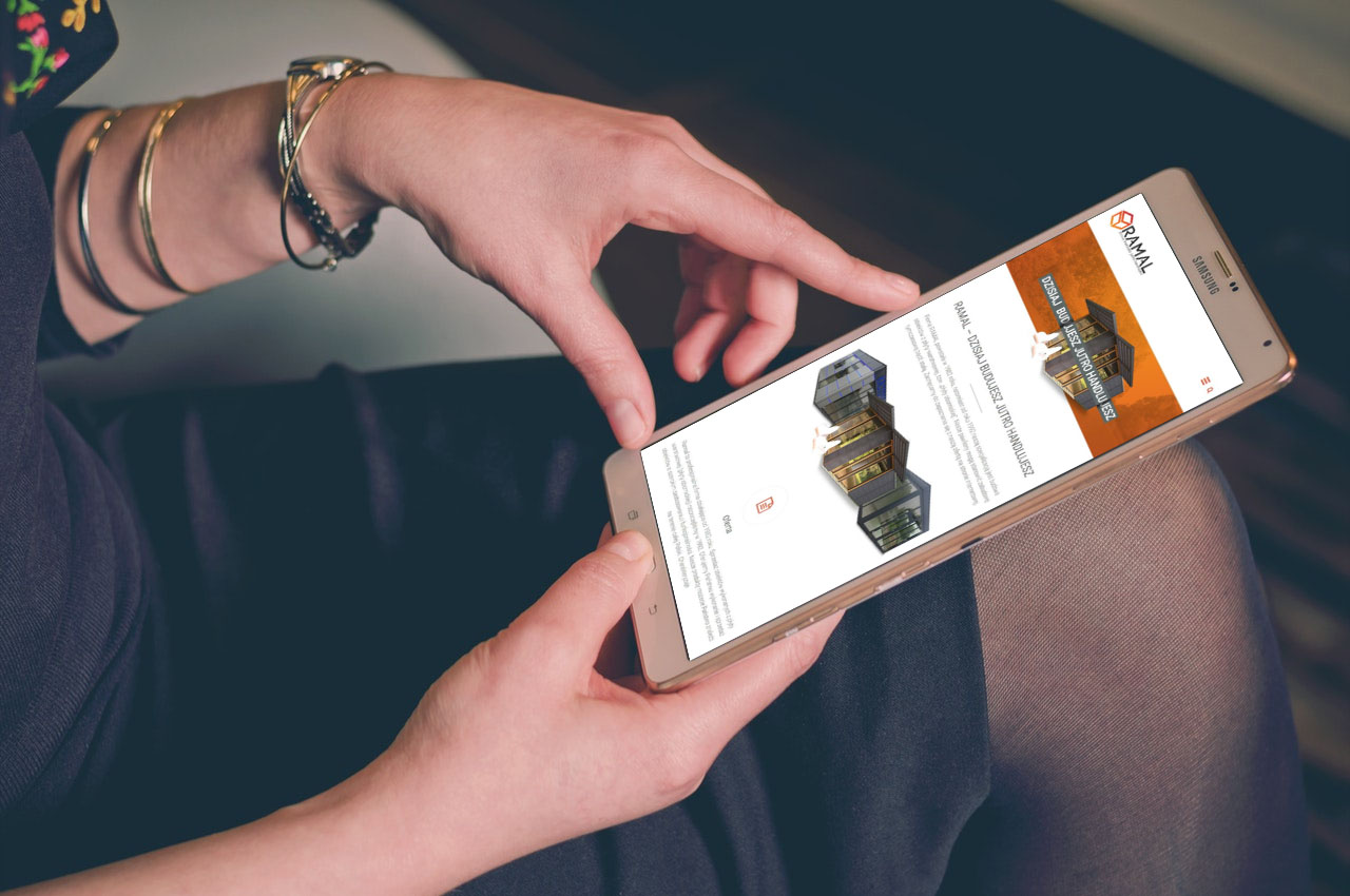 Portfolio BlueSky System: RAMAL - Smartphone