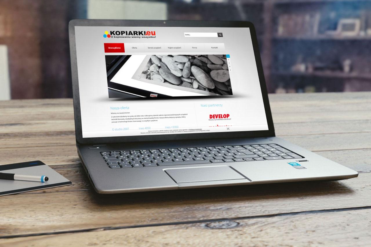 Portfolio BlueSky System: kopiarki.eu - Laptop